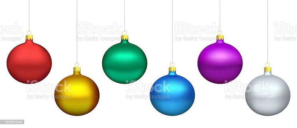Bolas de Navidad - foto de stock