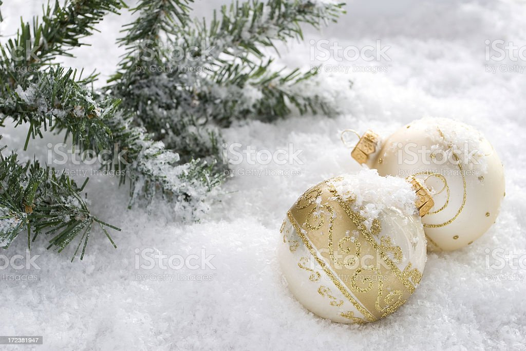 Christmas balls. royalty-free stock photo