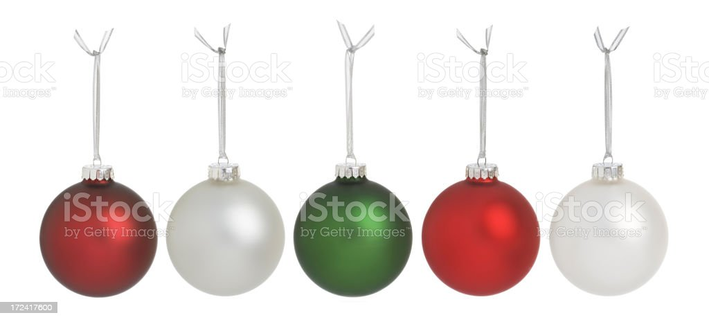 Christmas Balls (XXL) royalty-free stock photo