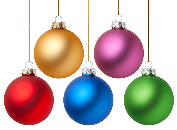 Christmas balls Christmas balls. Photography in high resolution.  christmas ornament stock pictures, royalty-free photos & images