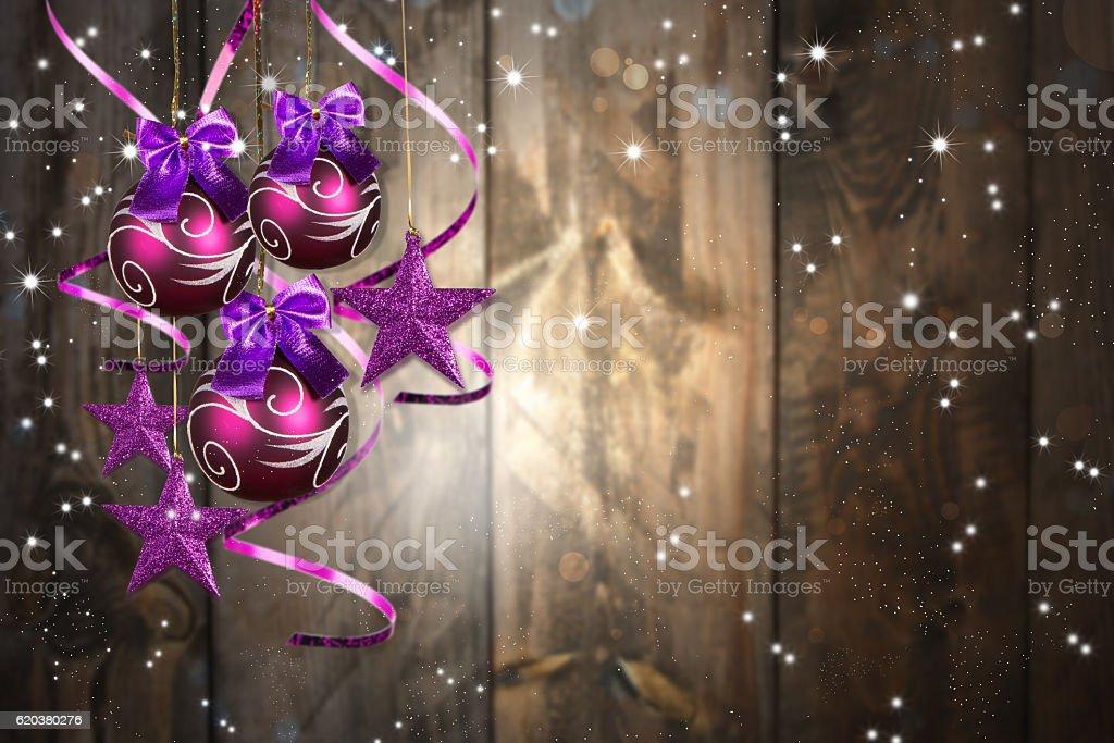 Boże Narodzenie piłki  zbiór zdjęć royalty-free