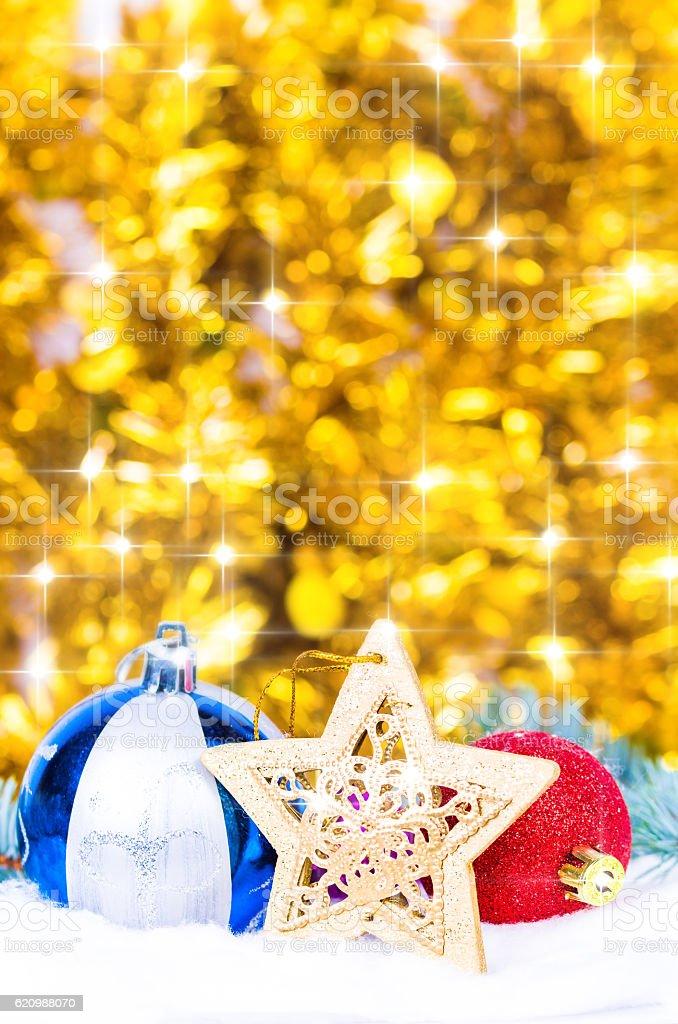 Bolas de Natal  foto royalty-free
