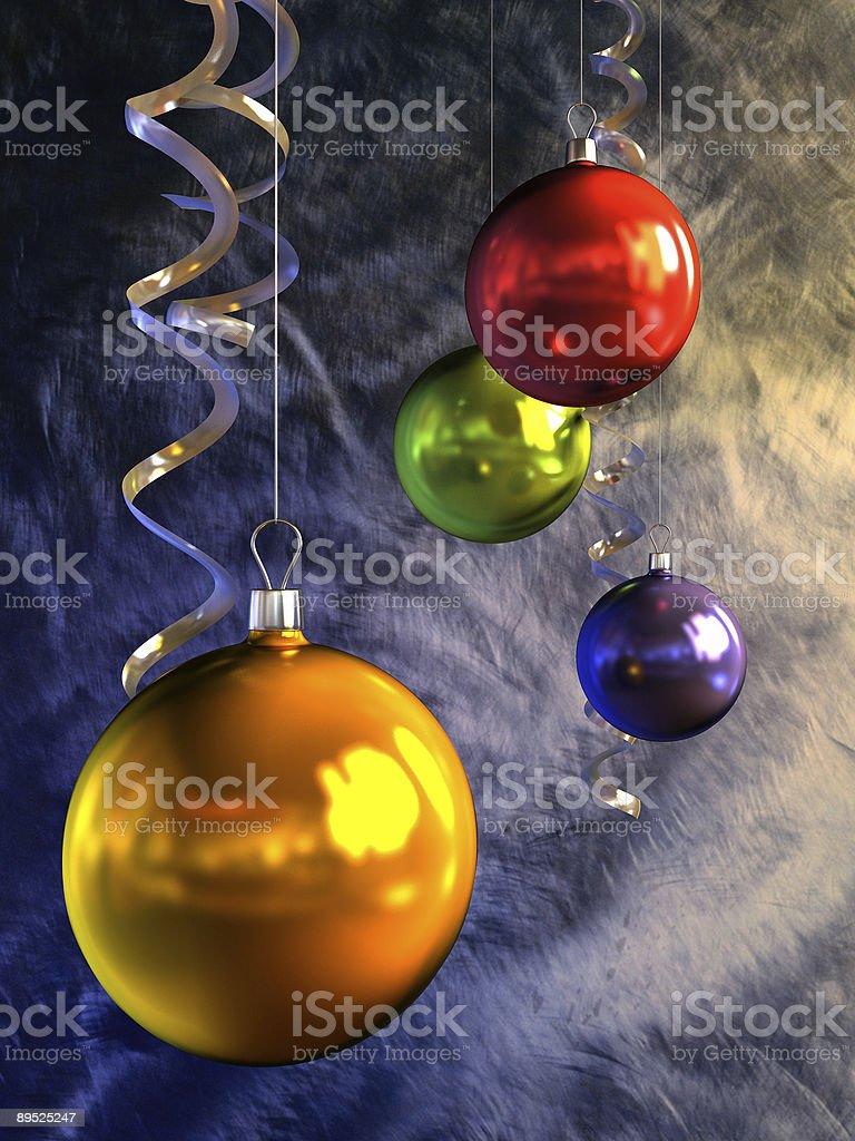 Bolas de Navidad foto de stock libre de derechos
