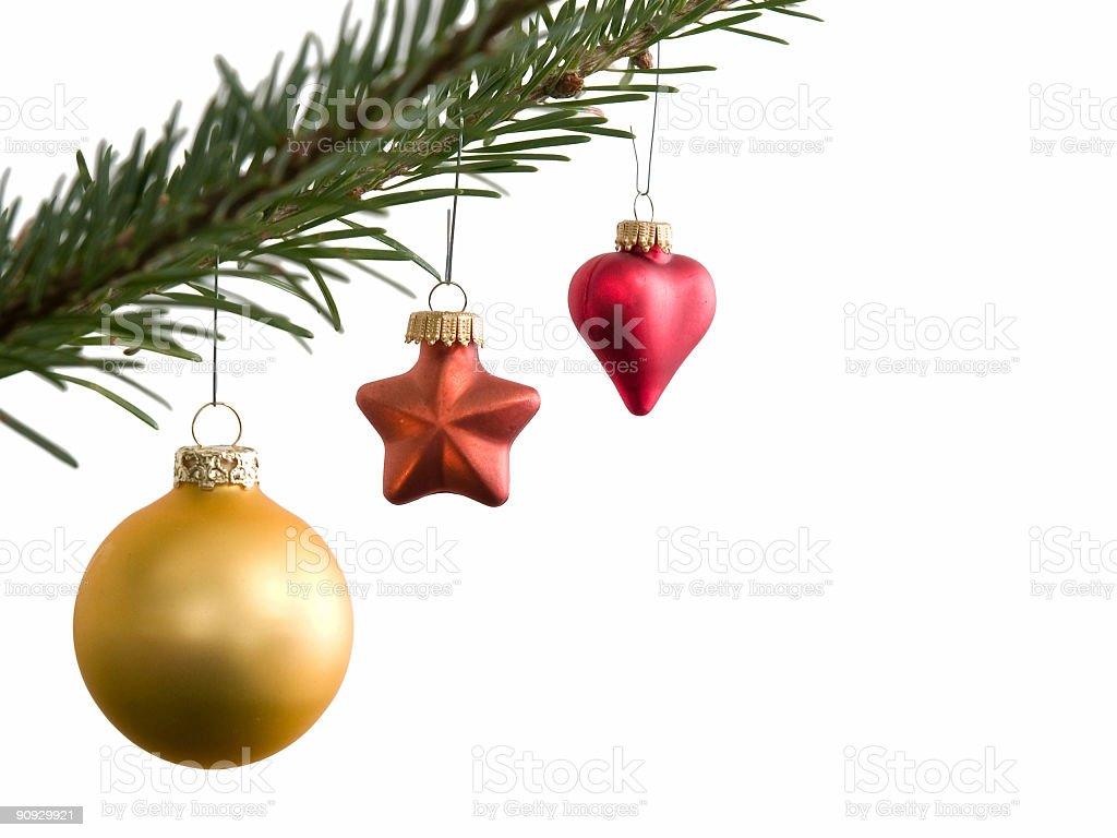 Christmas Balls royalty-free stock photo