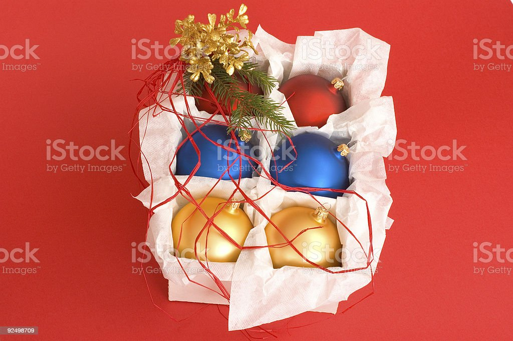 Christmas balls #4 royalty-free stock photo