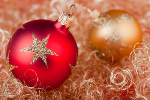 Christmas Balls Stock Photo - Download Image Now