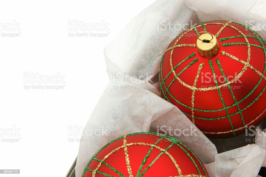Christmas Balls Series royalty-free stock photo