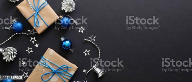 Christmas banner black xmas background blue and silver bright gifts picture id1174817905?b=1&k=6&m=1174817905&s=612x612&h=nqwt7oqncmc283uedndzwiisbenia4k9vvnnx2j28ga=
