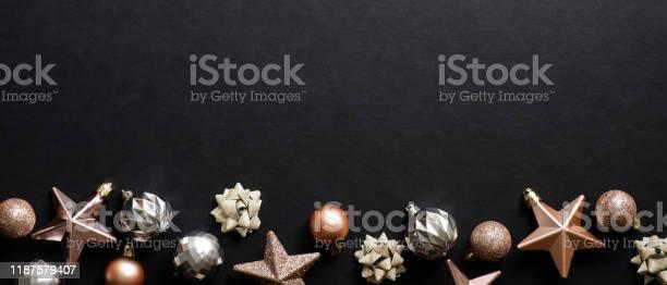 Christmas banner xmas black background with stylish balls and stars picture id1187579407?b=1&k=6&m=1187579407&s=612x612&h=razar1vi5ck eoirqbiix1soqxdjdfqni4fl8zf2cow=