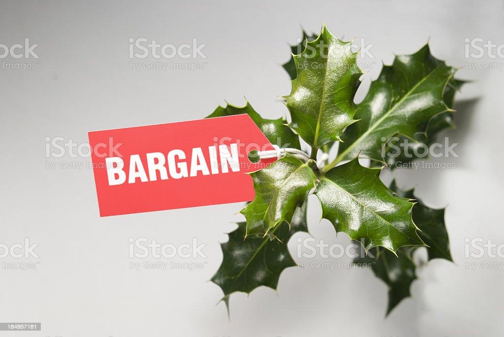 Christmas Bargains royalty-free stock photo