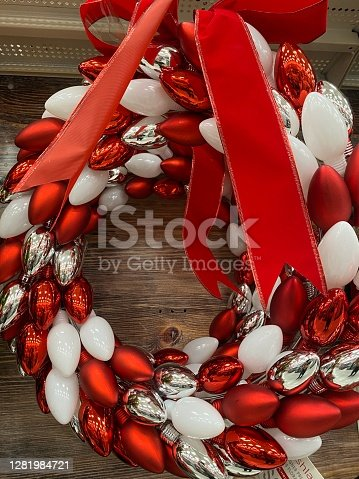 Christmas baskets ornament
