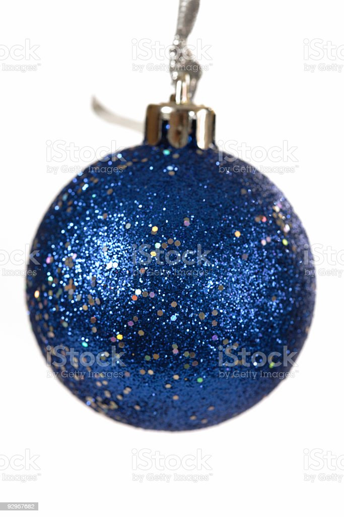 Christmas Bauble close-up royalty-free stock photo