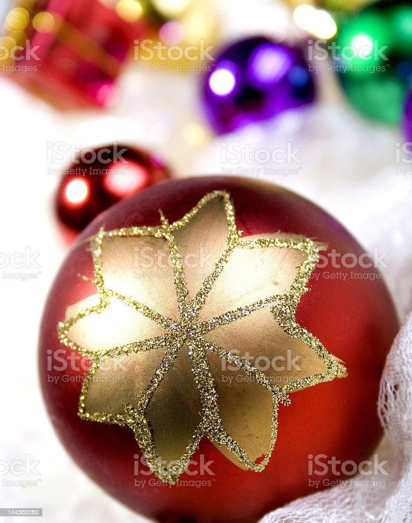 christmas bauble #9 royalty-free stock photo