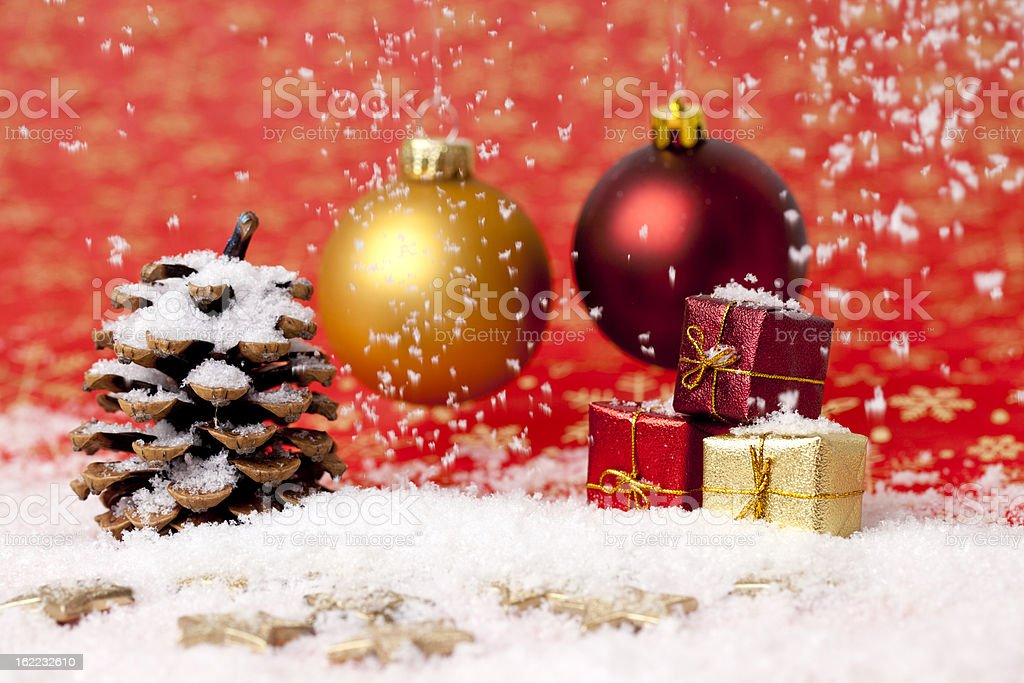 Christmas Bauble royalty-free stock photo
