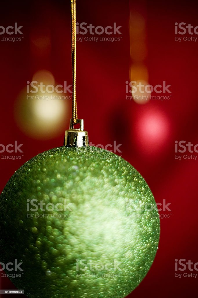 Weihnachten Kugeln Nahaufnahme Lizenzfreies stock-foto