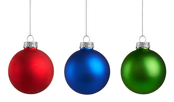 Decorações comuns de Natal grupo - foto de acervo