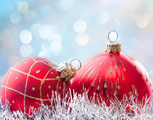 Weihnachtskugeln – Foto