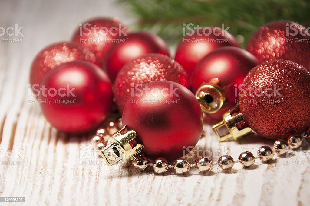 크리스마스 baubles royalty-free 스톡 사진