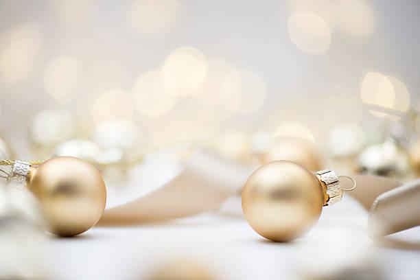 Adornos navideños  - foto de stock