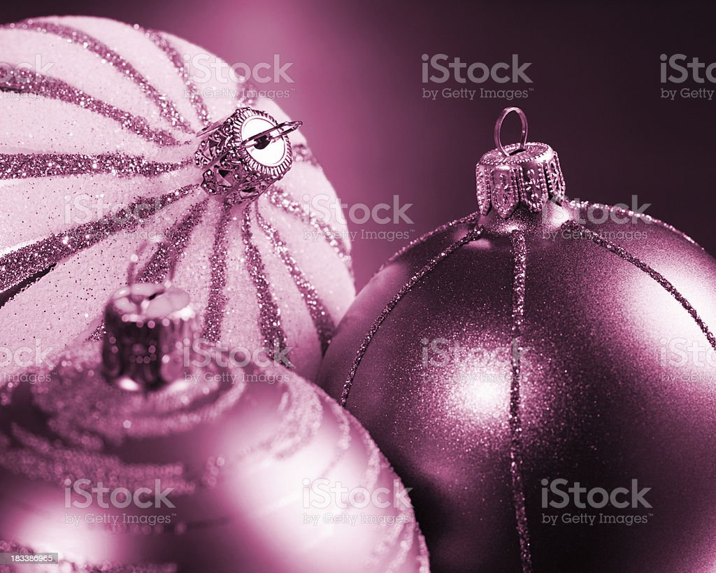 Christmas Baubles XL stock photo