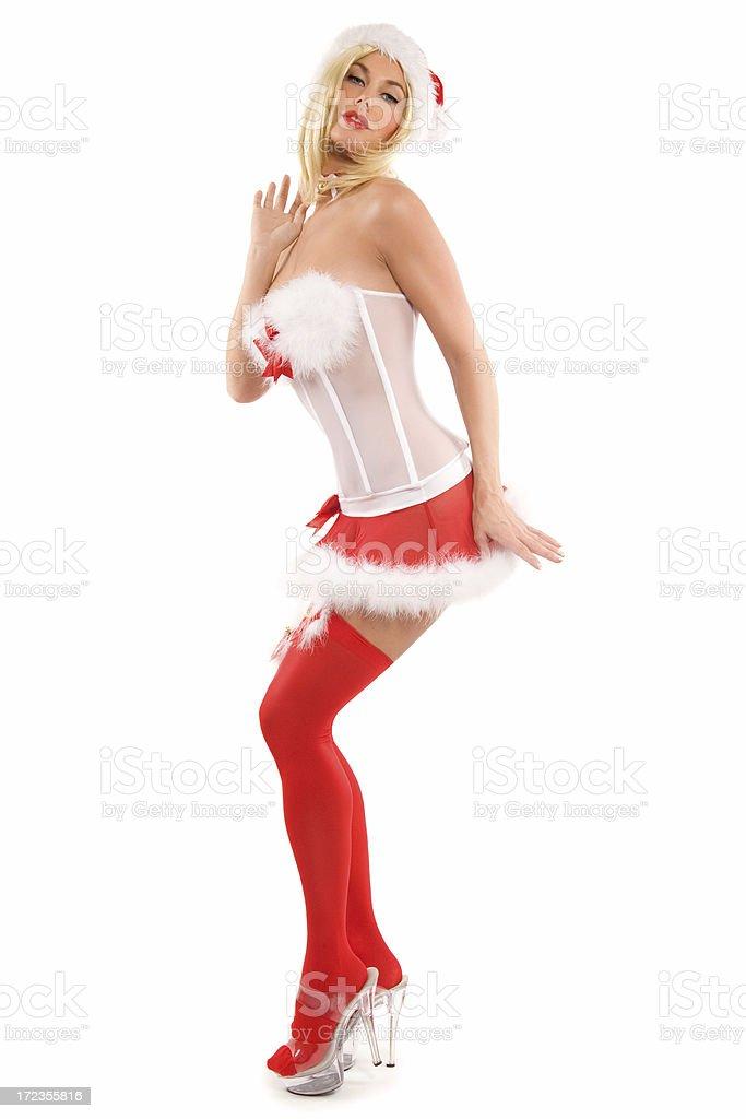 Christmas Beauty royalty-free stock photo