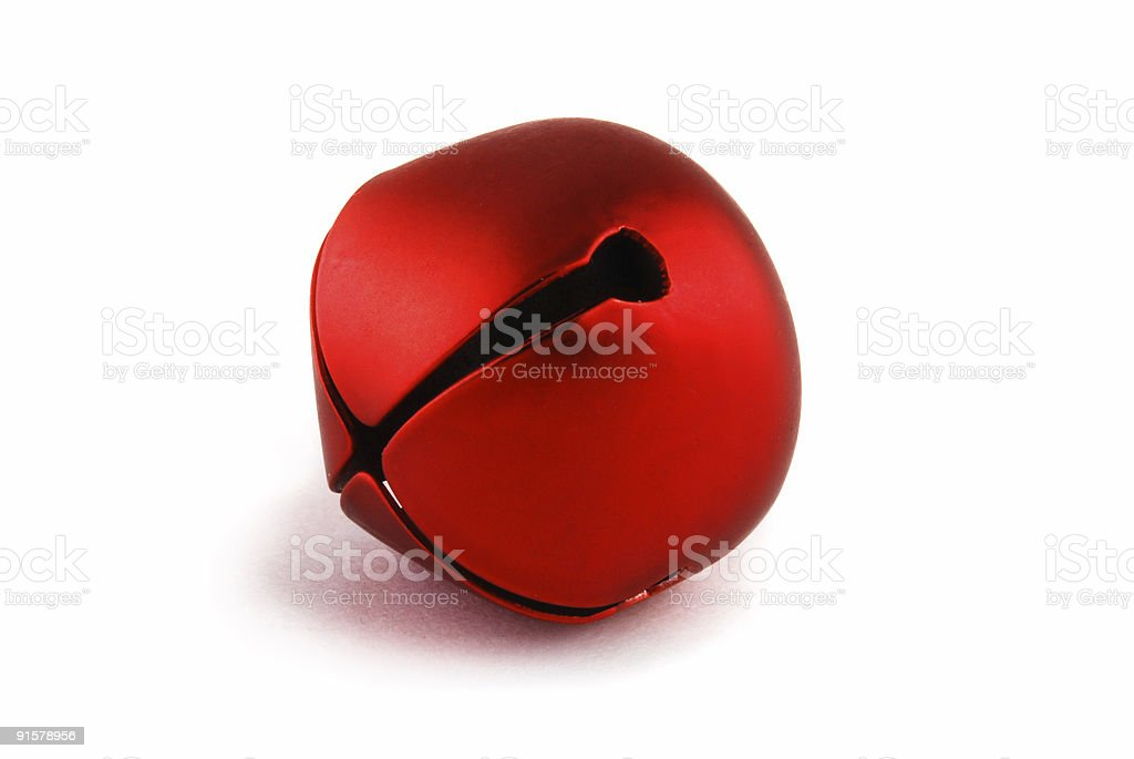Christmas Bell Isolated stock photo
