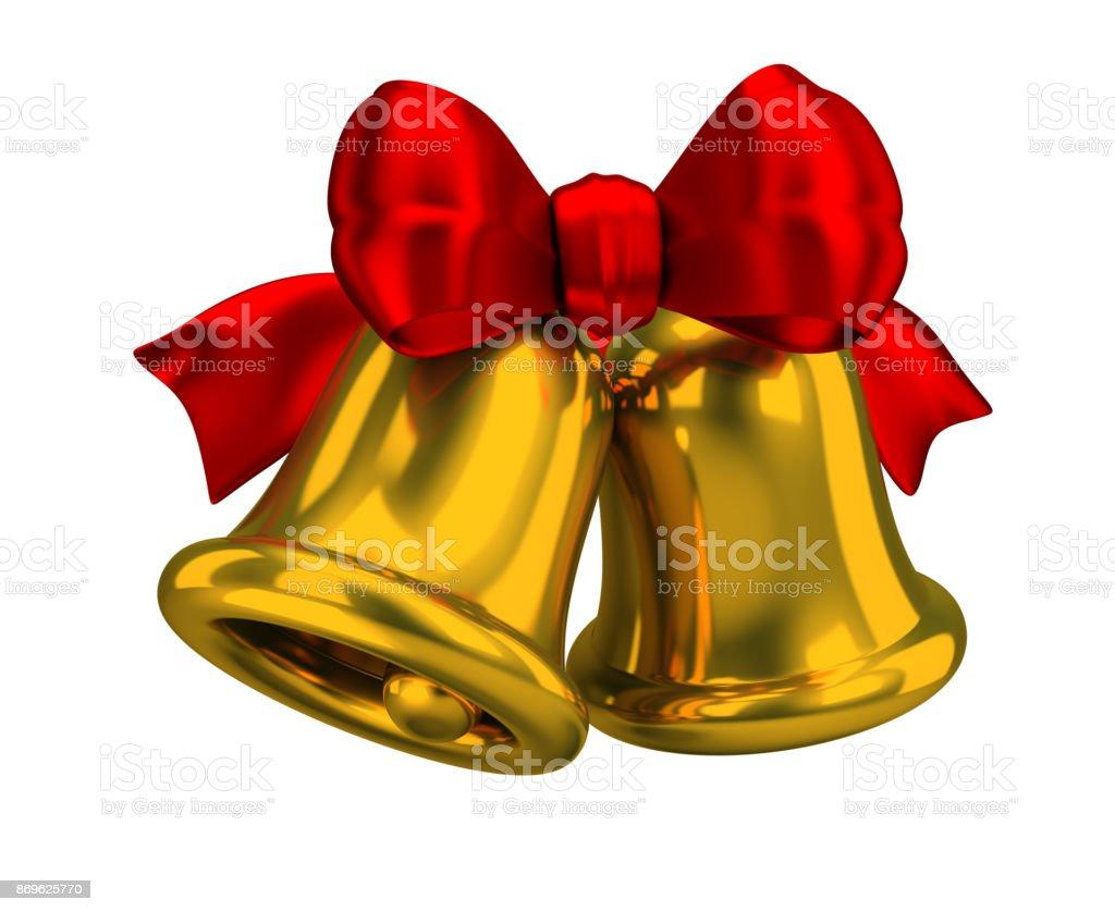 Christmas bells стоковое фото