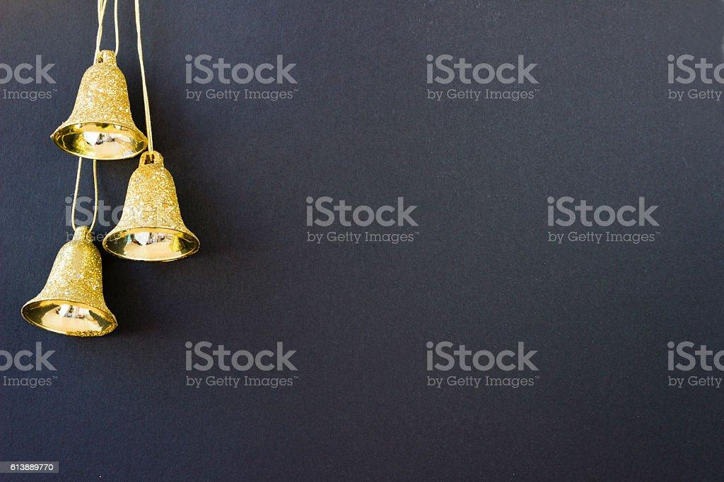 Christmas bells.Christmas theme stock photo