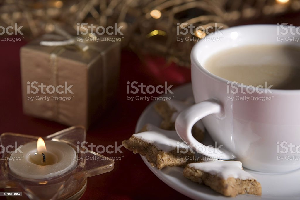 Christmas biscuits royalty-free stock photo