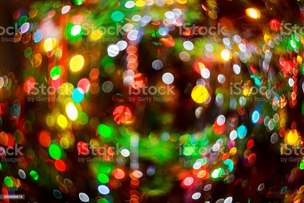 Christmas Bokeh background royalty-free stock photo
