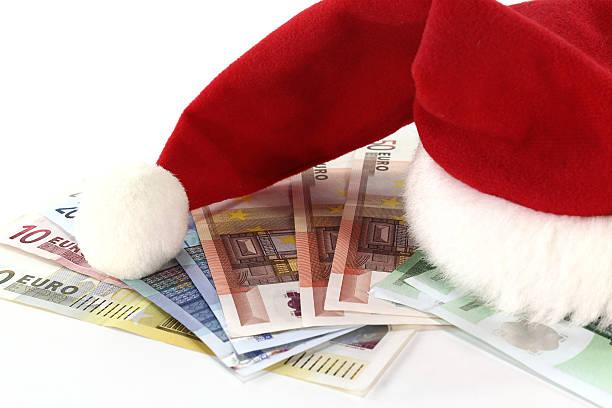 Christmas bonus stock photo
