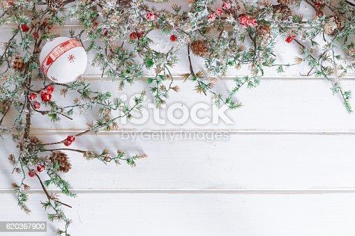 Christmas Border Design With Snow Covered Pinecones - Stockowe zdjęcia i więcej obrazów Bal