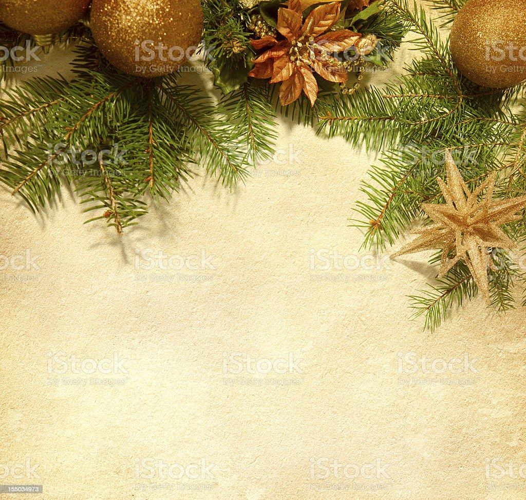 Christmas   border. royalty-free stock photo