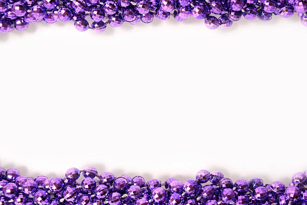 christmas borders - mardi gras borders silhouette stock photos and pictures