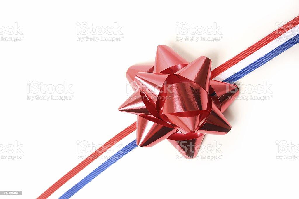 Navidad bow foto de stock libre de derechos