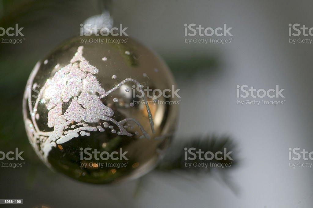 Navidad bowl foto de stock libre de derechos