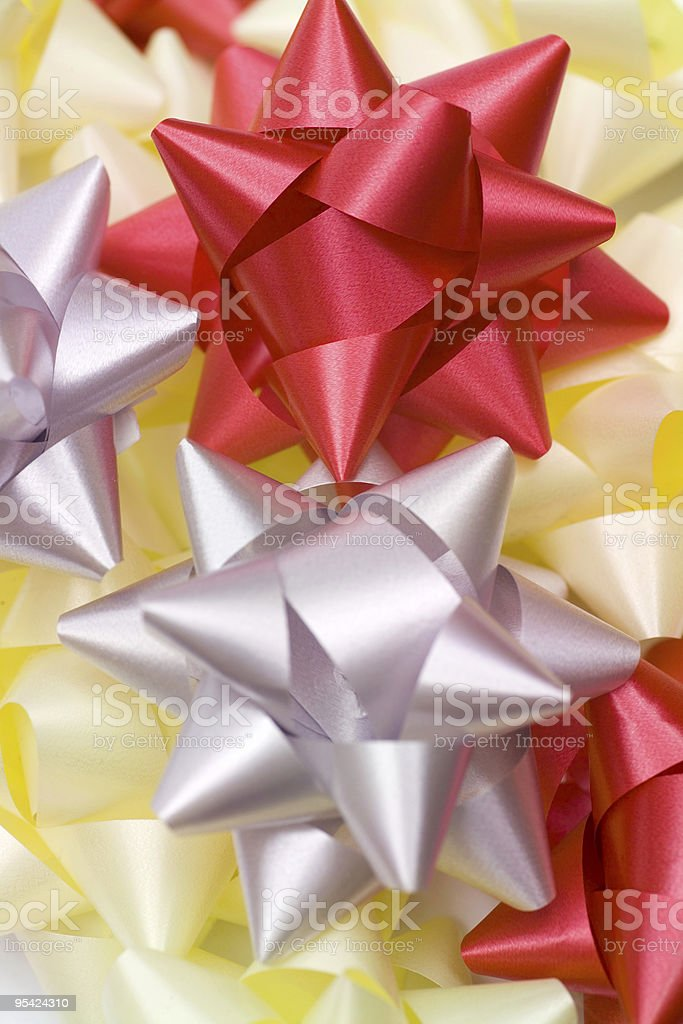 Weihnachten Schleifen Lizenzfreies stock-foto