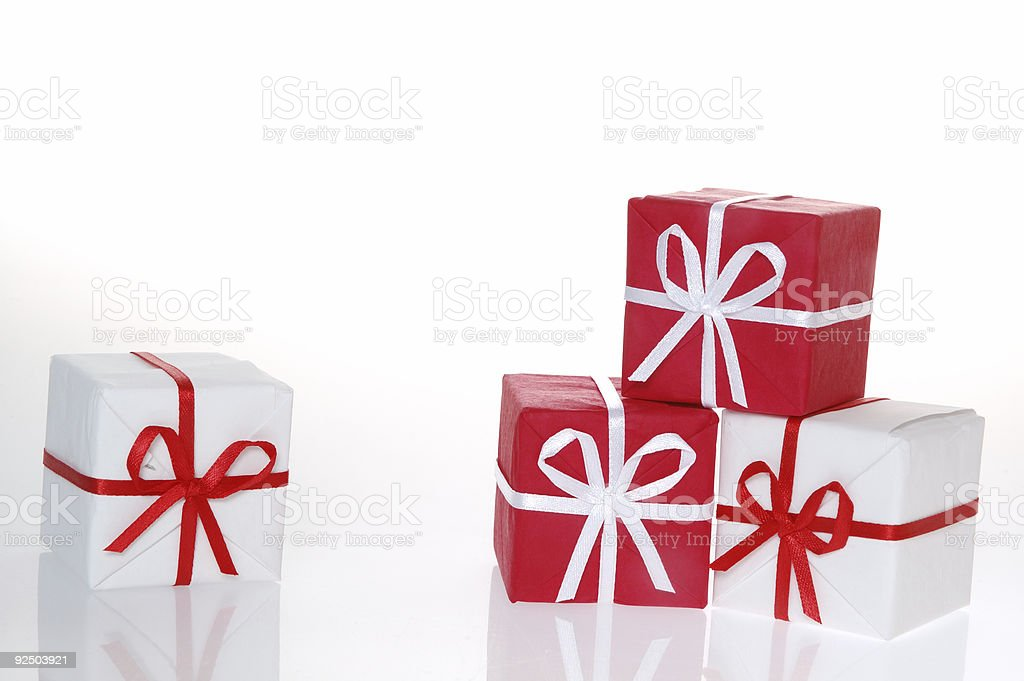 Christmas box 2 royalty-free stock photo