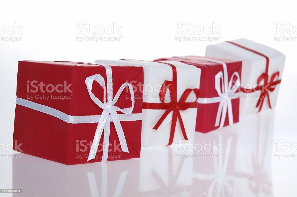 Christmas box 5 royalty-free stock photo