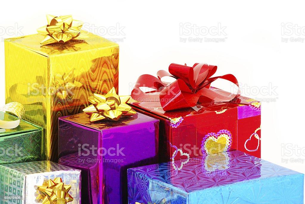크리스마스 이메일함 선물함 - 로열티 프리 0명 스톡 사진