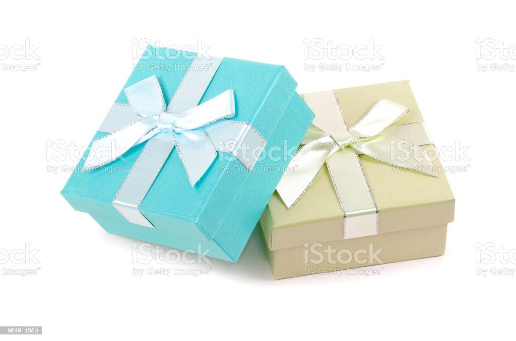 Christmas box royalty-free stock photo