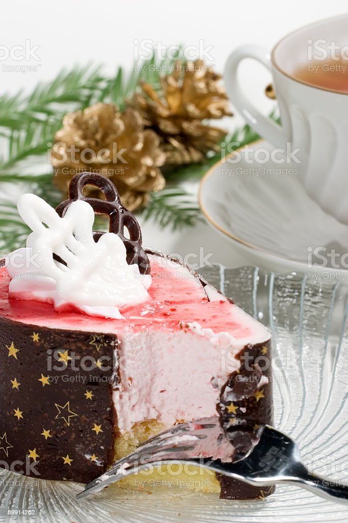 Christmas breakfast royalty free stockfoto