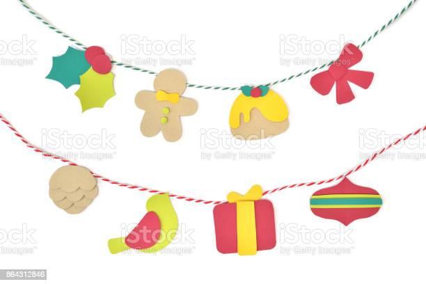 Christmas bunting paper cut on white background picture id864312846?b=1&k=6&m=864312846&s=612x612&h=j8hviewmfttwngq28zenfd8kdtd4 u2xju76twe8eei=