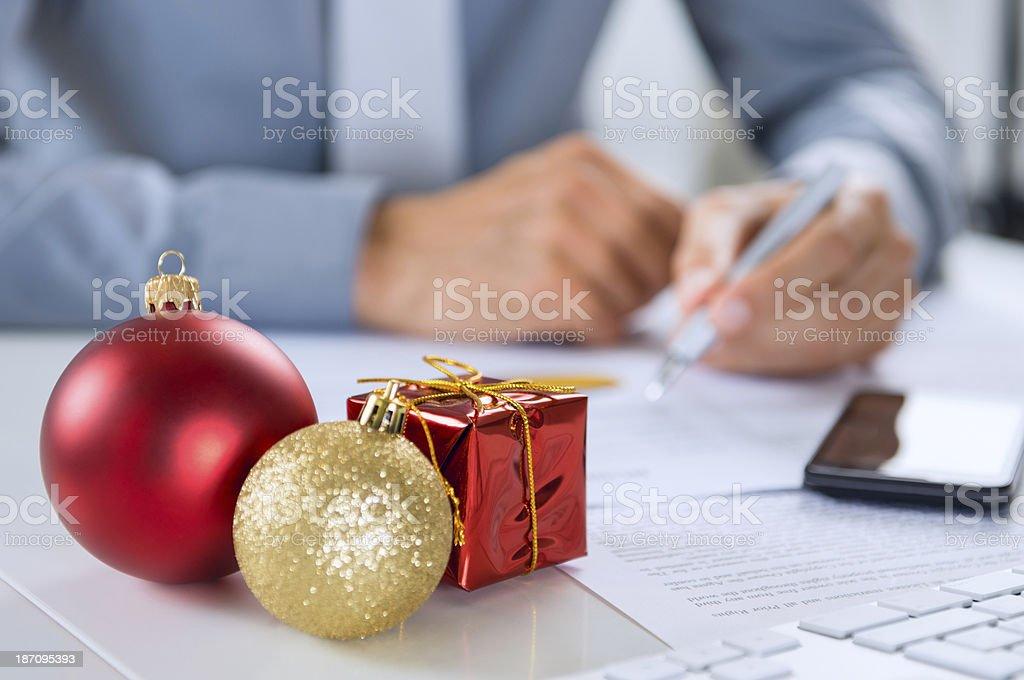Weihnachten-Business – Foto