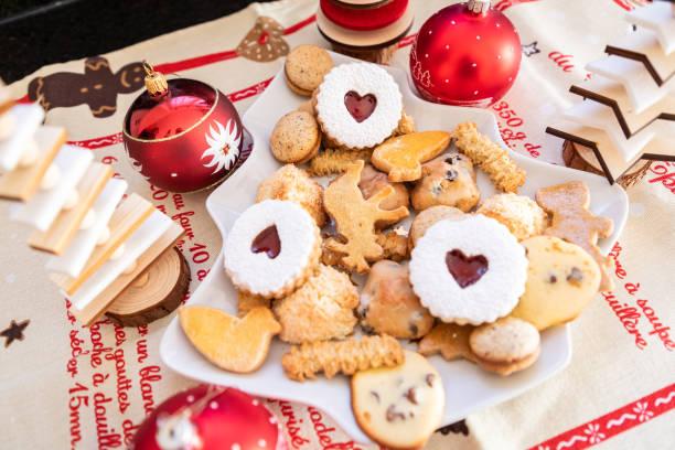 Jul tårta i Alsace bildbanksfoto