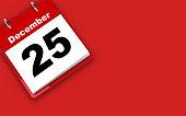 istock Christmas calendar 25 December 1276450480