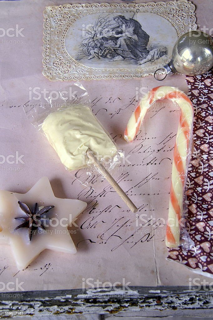 Christmas candies royalty-free stock photo