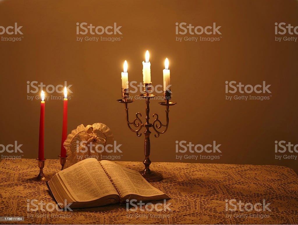 Christmas Candlelight royalty-free stock photo