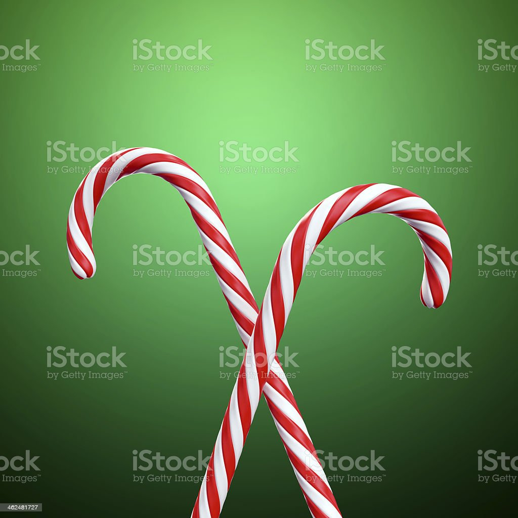 Christmas candy cane – Foto