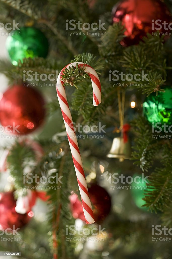 Christmas candy royalty-free stock photo